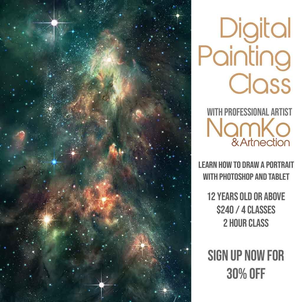 Nam Digital Painting